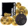 MEINL HCS141620 Set piatti per batteria + borsa
